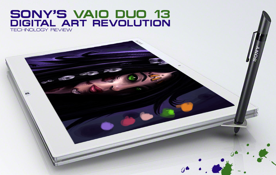 Sony VAIO Duo 13 Review for Artists