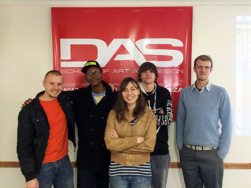 Some of the DAS June 2014 intake students.