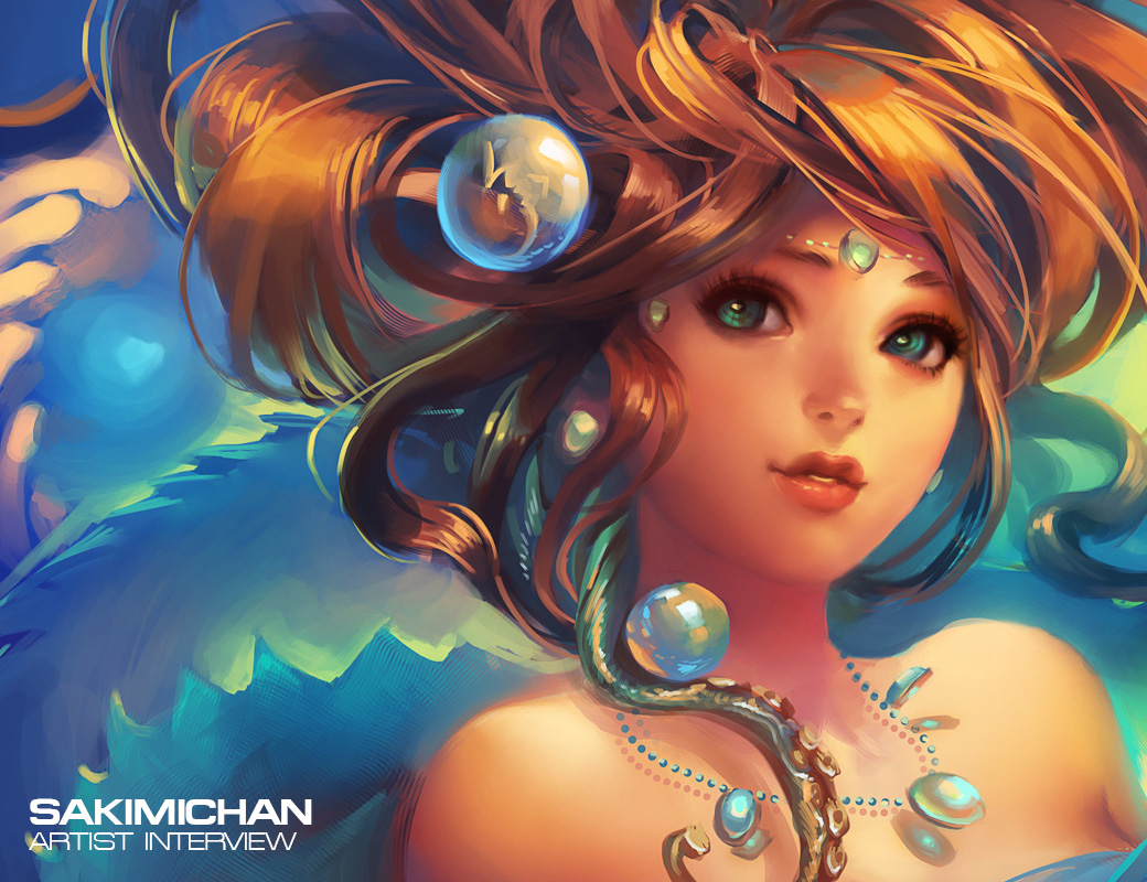 Artist interview sakimichan your digital for Art and craft drawing and painting